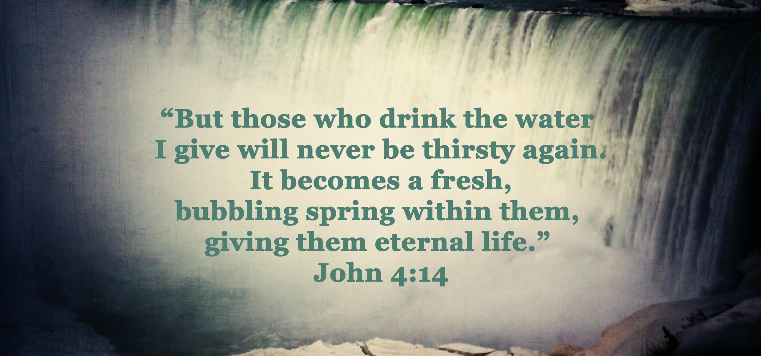 John 4:14