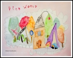 Chloe Watercolor Pink World