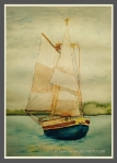 Watercolor Sailboat