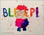Bleep said the Sheep