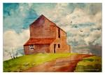 Watercolor Picture Barn4