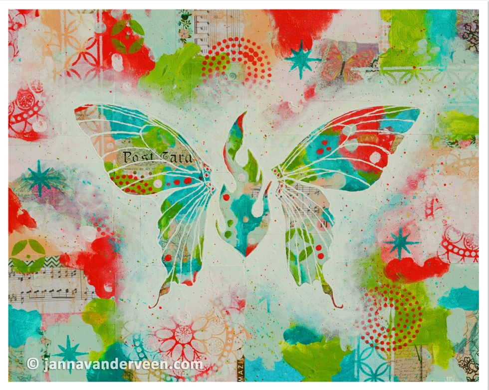Butterfly Painting Acrylics