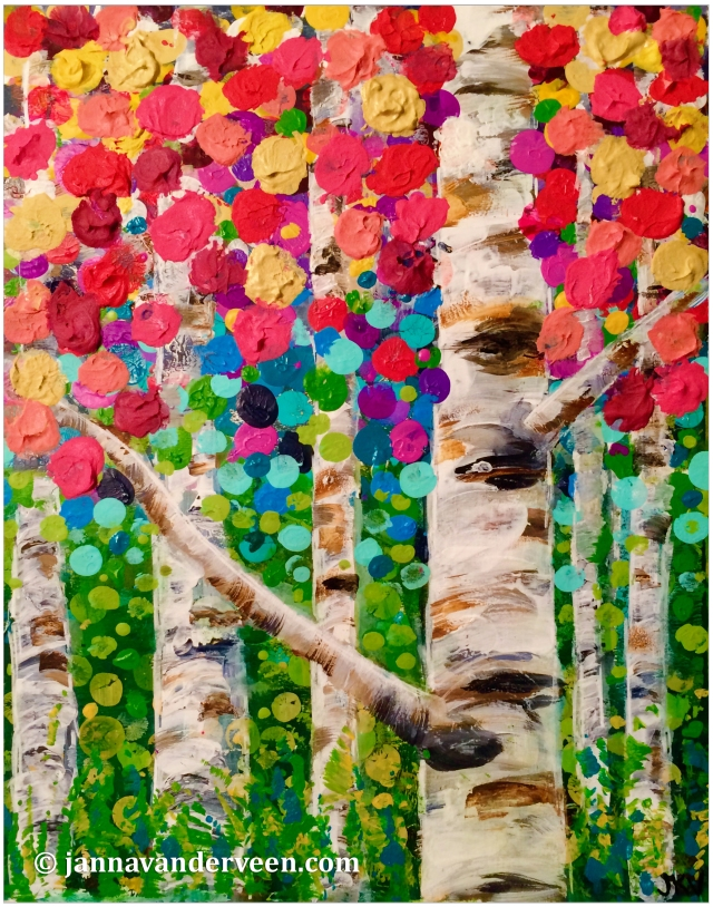 Fingerprint Birch Trees1b